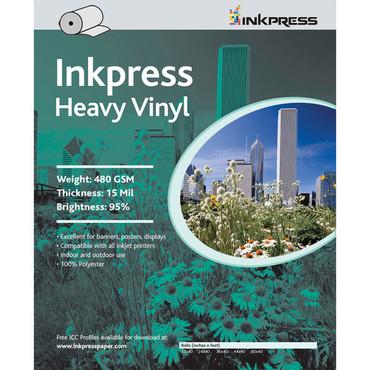"""Heavy Vinyl For Inkjet Printers  36"""" X 45'"""