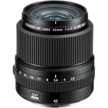 Fujifilm GF 45mm F/2.8 R WR Lens for GFX Medium Format System  (get $200 mailing rebate expire 8/8/2021)
