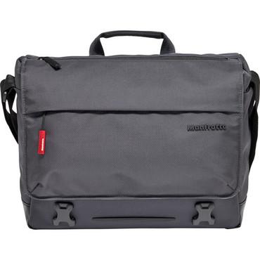 Manfrotto  Lifestyle Manhattan Speedy-10 Camera Messenger Bag (Gray)