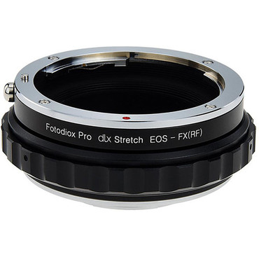 Fotodiox DLX Stretch Lens Mount Adapter - Canon EOS (EF / EF-S) D/SLR Lens to Fujifilm Fuji X-Series Mirrorless Camera Body with Macro Focusing Helicoid and Magnetic Drop-In Filters