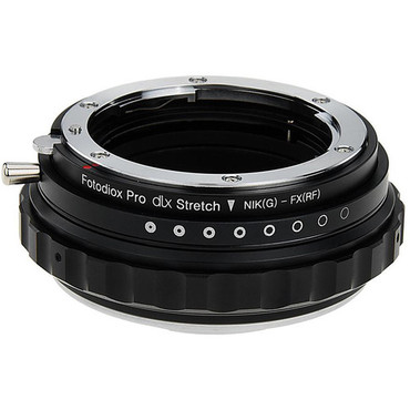 Fotodiox DLX Stretch Lens Mount Adapter - Nikon Nikkor F Mount G-Type D/SLR Lens to Fujifilm Fuji X-Series Mirrorless Camera Body with Macro Focusing Helicoid and Magnetic Drop-In Filters