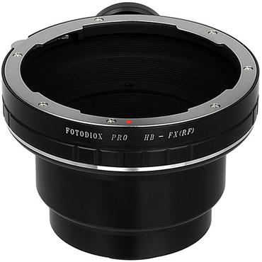 Fotodiox Pro Lens Mount Adapter - Hasselblad V-Mount SLR Lenses to Fujifilm Fuji X-Series Mirrorless Camera Body