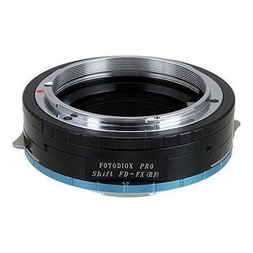 Fotodiox Pro Lens Mount Shift Adapter - Canon FD & FL 35mm SLR lens to Fujifilm Fuji X-Series Mirrorless Camera Body