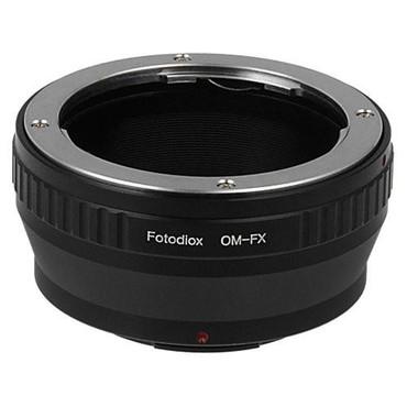 Fotodiox Lens Mount Adapter - Olympus Zuiko (OM) 35mm SLR Lens to Fujifilm Fuji X-Series Mirrorless Camera Body