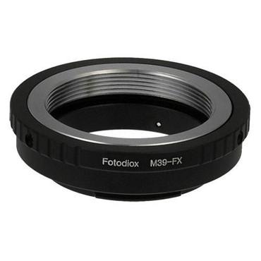 Fotodiox Lens Mount Adapter - M39/L39 Screw Mount SLR Lens to Fujifilm Fuji X-Series Mirrorless Camera Body