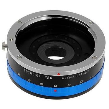 Fotodiox Pro Lens Mount Adapter - Canon EOS (EF / EF-S) D/SLR Lens to Fujifilm Fuji X-Series Mirrorless Camera Body