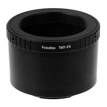Fotodiox Lens Mount Adapter - T-Mount (T / T-2) Screw Mount SLR Lens to Fujifilm Fuji X-Series Mirrorless Camera Body