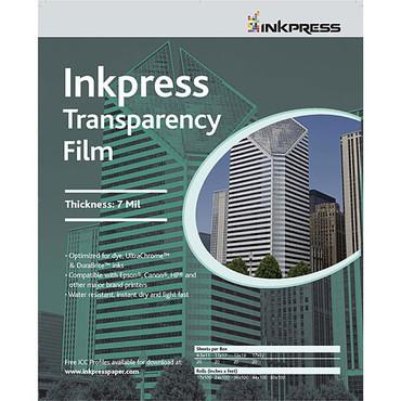 "Inkpress - 13X19"" TRANSPARENCY FILM 20SH/"