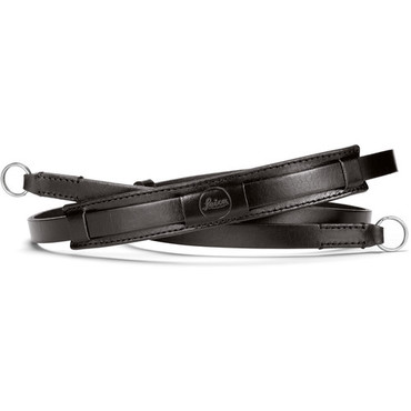 Leica Vintage Leather Neck Strap (Black)