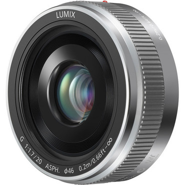 Lumix G 20mm f/1.7 II ASPH. M43 Lens (Silver)