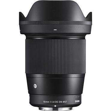Sigma 16mm f/1.4 DC DN Contemporary Lens for Micro Four Thirds