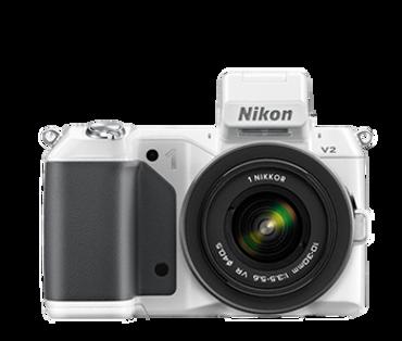 Nikon 1 V2 W/ VR 10-30mm (White)