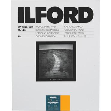 "Ilford Multigrade IV RC DeLuxe Paper (Satin, 11 x 14"", 10 Sheets)"