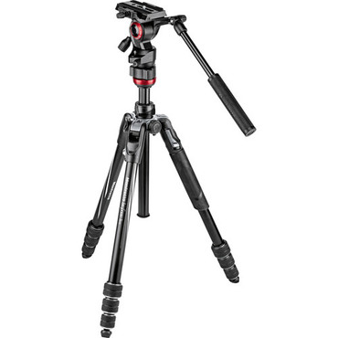 Manfrotto Befree Live Video Tripod Kit with Twist Leg Locks