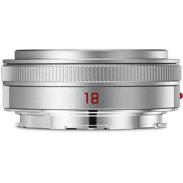 Leica Elmarit-TL 18 mm f/2.8 ASPH. Lens (Silver)