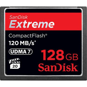 SanDisk 128GB Extreme (CF) 120MB/s UDMA 7