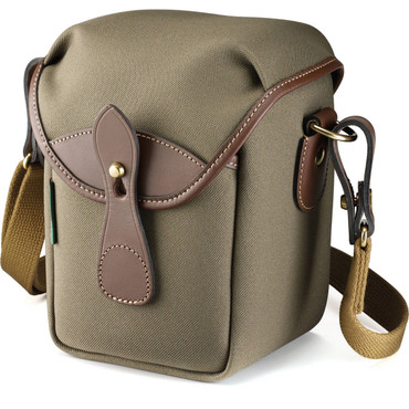 Billingham 72 Small Camera Bag (Sage FibreNyte/Chocolate Leather)