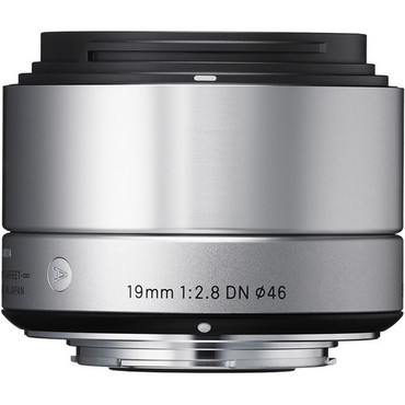Sigma 19mm f/2.8 DN Lens for Sony E-Mount (Silver)