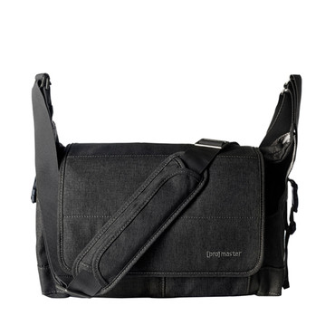 Cityscape 130 Courier Bag - Charcoal Grey