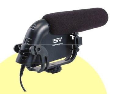 Smith-Victor Shotgun Microphone with shoe 3.5mm mini jack