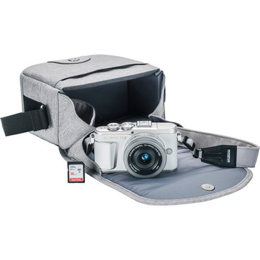 Olympus PEN E-PL9 Mirrorless Micro Four Thirds Digital Camera with 14-42mm Lens (White) with case and SD 16gb