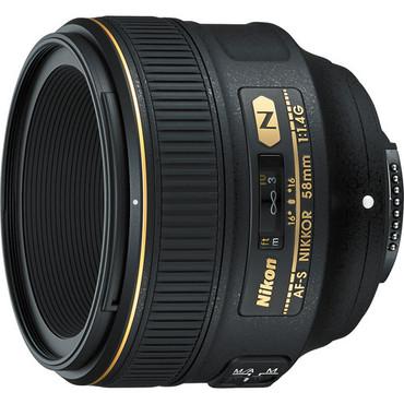 Nikon AF-S FX 58mm f/1.4G Lens