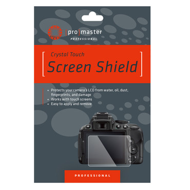 Promaster Crystal Touch LCD Screen Shield for Nikon D7500