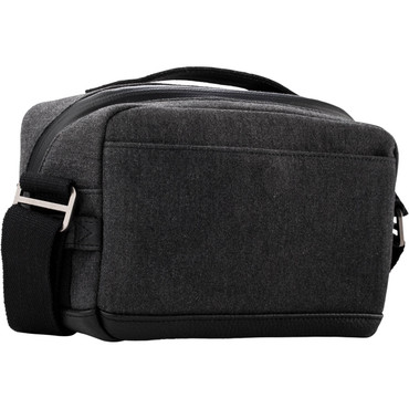 Tenba Cooper Luxury Canvas 6 Camera Bag with Leather Accents (Gray)