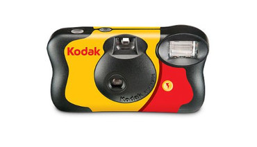 Kodak 35mm One-Time-Use Disposable Camera (ISO-800) with Flash - 27 Exposures