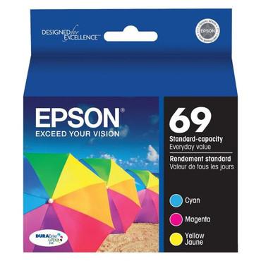 Epson 69 DURABrite Ultra 3-Color Ink Cartridge Pack