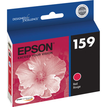 Red Ink Cartridge For Stylus Photo R2000 Printer