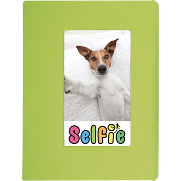 Skutr Selfie Photo Album for Instax Photos - Large (Lime Green)