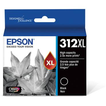 Epson T312XL Black Claria Photo HD Ink Cartridge with Sensormatic