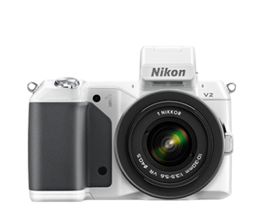 1 V2 Mirrorless Digital Camera Body (White)