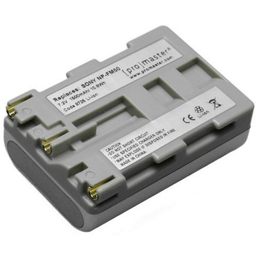 Promaster NP-FM50 Lithium Ion Battery for Sony