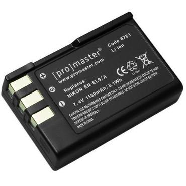 Promaster EN-EL9/A Lithium Ion Battery for Nikon
