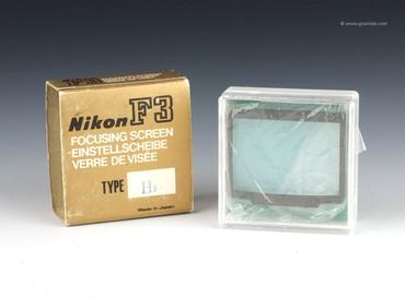 Nikon H3 Focusing screen for F3
