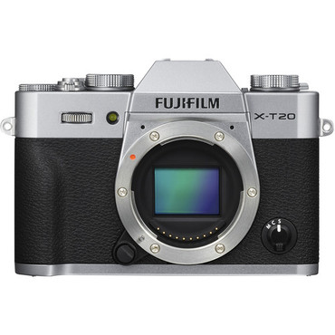 Pre-Owned - Fujifilm X-T20 Mirrorless Digital Camera (Body Only, Silver)