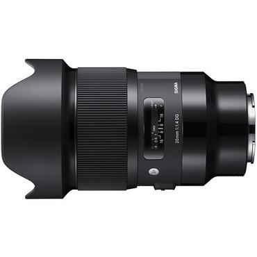 Sigma 20mm f/1.4 DG HSM Art Lens for Sony E
