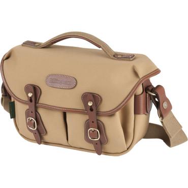 Billingham Hadley Small Pro Shoulder Bag (Khaki FibreNyte & Tan Leather)