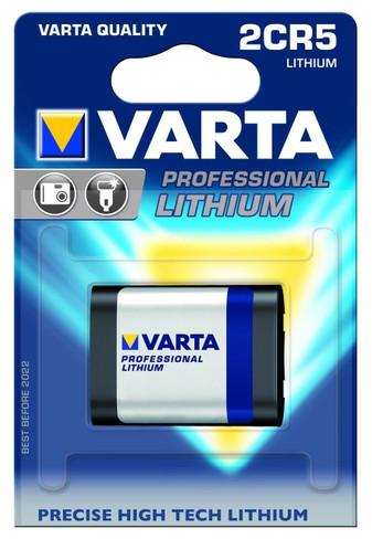 Varta 2CR5 Lithium battery