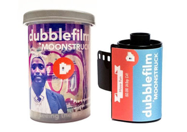 dubblefilm MOONSTRUCK EDITION - 35mm COLOR NEGATIVE FILM (1-pack)
