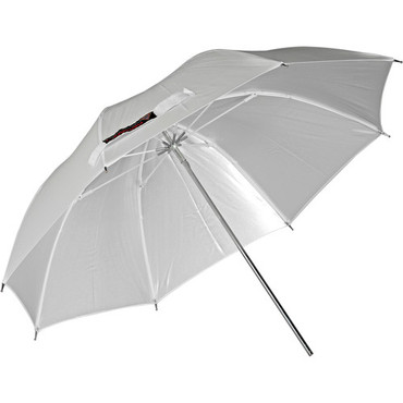 """Photoflex 30"""" White Satin Umbrella"""