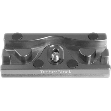 TetherBLOCK QR Plus Quick Release Plate (Thunder Gray)
