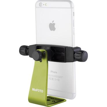 MeFOTO SideKick360 Plus Smartphone Tripod Adapter (Green)
