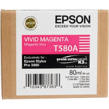 Epson UltraChrome K3 Ink For 3880 - Vivid Magenta (80 ml)