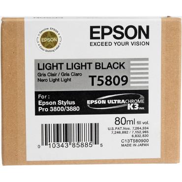 Epson UltraChrome K3 Ink For 3800 & 3880 - Light Light Black (80 ml)