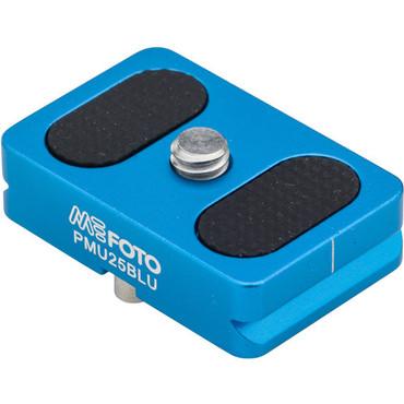 MeFOTO BackPacker Air Quick Release Plate (Blue)