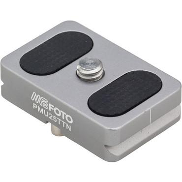 MeFOTO BackPacker Air Quick Release Plate (Titanium)