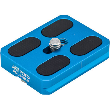 MeFOTO RoadTrip and GlobeTrotter Air Quick Release Plate (Blue)